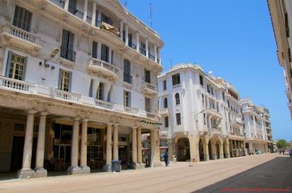 Le boulevard Mohammed-V