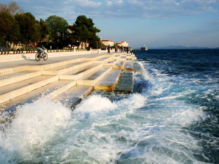 "L'orgue hydraulique "" Sea Organ "" de Zadar"