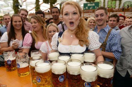 L'Oktoberfest, la fête de la bière à Munich
