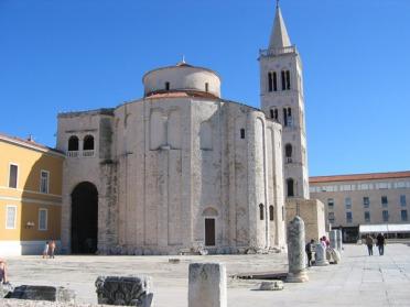 L'église Saint-Donat de Zadar