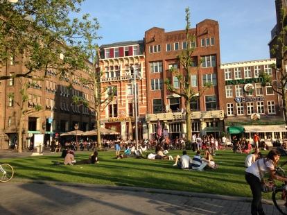 La place de Rembrandtplein