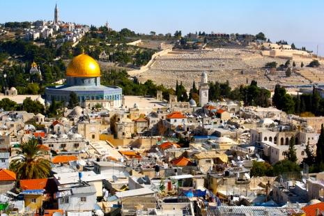 Jérusalem tout en couleurs