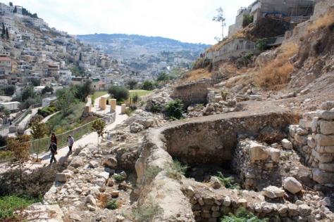 La citée de David, Jérusalem