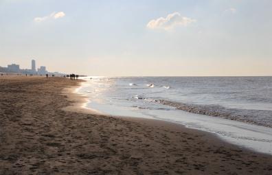 La plage de Zandvoort