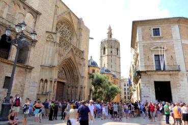 La cathédrale Sainte Marie de Valence