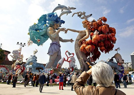 La grande fête des Fallas de Valence