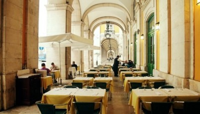 L'hôtel restaurant Martinho Da Arcada
