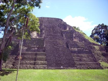 Les ruines de Lamanai