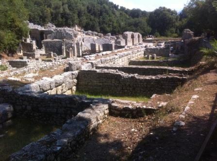 Le site archéologique de Butrint