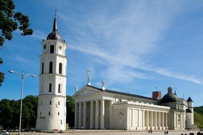 La cathédrale de Vilnius