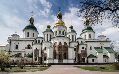 La cathédrale Sainte-Sophie de Kiev